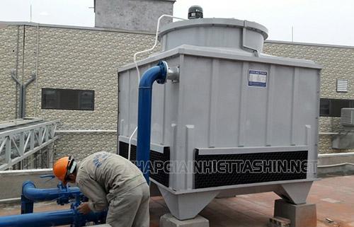 vận hành tháp giải nhiệt nước