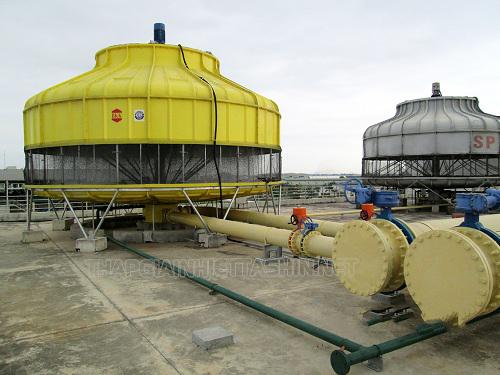 thiết bị tháp giải nhiệt nước