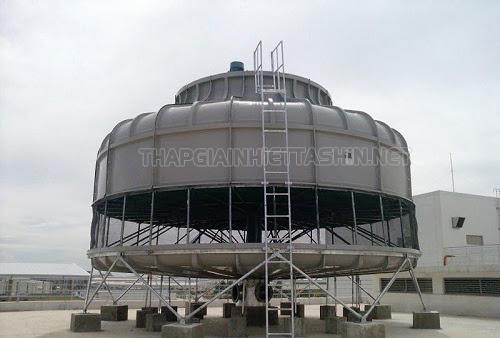 Hệ thống tháp giải nhiệt nước trong công nghiệp