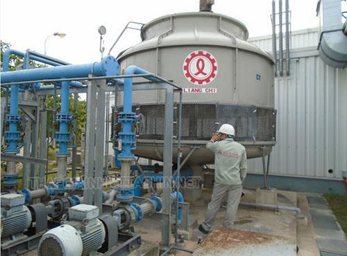 Tháp giải nhiệt là thiết bị thông minh của ngành công nghiệp hiện đại