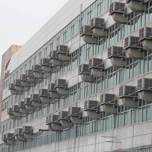 Có hai hệ thống làm mát nhà xưởng là áp suất âm và áp suất dương