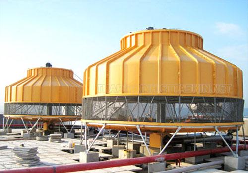 Sử dụng tháp giải nhiệt giúp tiết kiệm nước hiệu quả