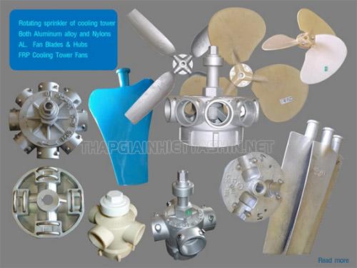 Người dùng cần chú ý chọn mua phụ kiện tháp giải nhiệt phù hợp với đặc điểm tháp,...