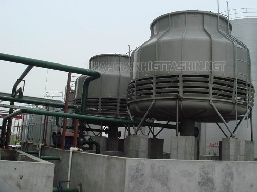 Tháp giải nhiệt được ứng dụng phổ biến trong nhiều ngành công nghiệp