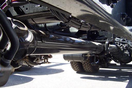 Vị trí trục các-đăng trên ô tô