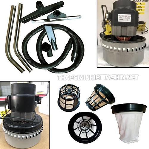 Cần thay thế linh, phụ kiện máy hút bụi công nghiệp khi xảy ra sự cố hỏng hóc, không thể khắc phục