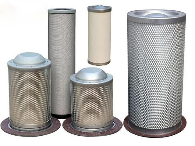 Lọc tách dầu của máy nén khí bao gồm 2 loại: lọc tách trong và lọc tách ngoài