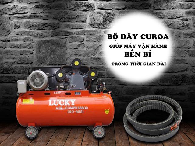 Dây curoa - phụ kiện quan trọng của máy nén khí