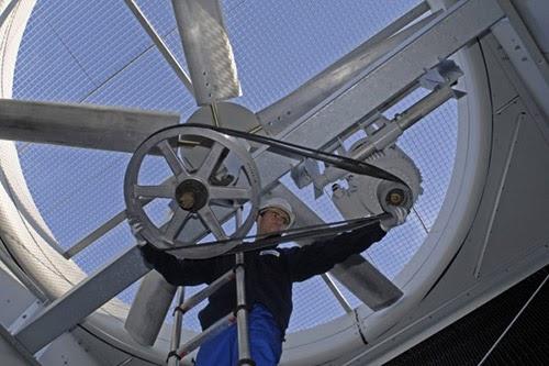 vận hành tháp giải nhiệt